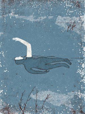 nadador.azul